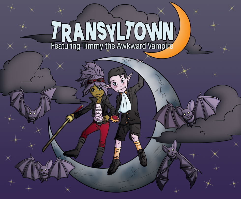 Transyltown Timmy The Awkward Vampire Cover