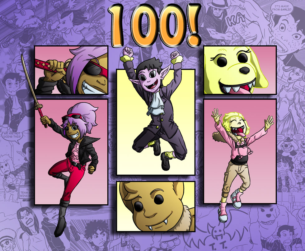 100! Colored