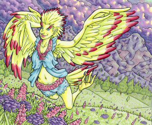 spring_harpie_by_brucesmall-d6xr5k2