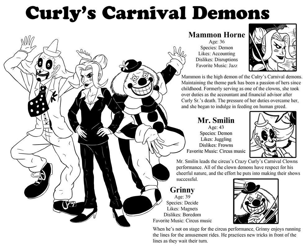 Curly's Carvnival Demons