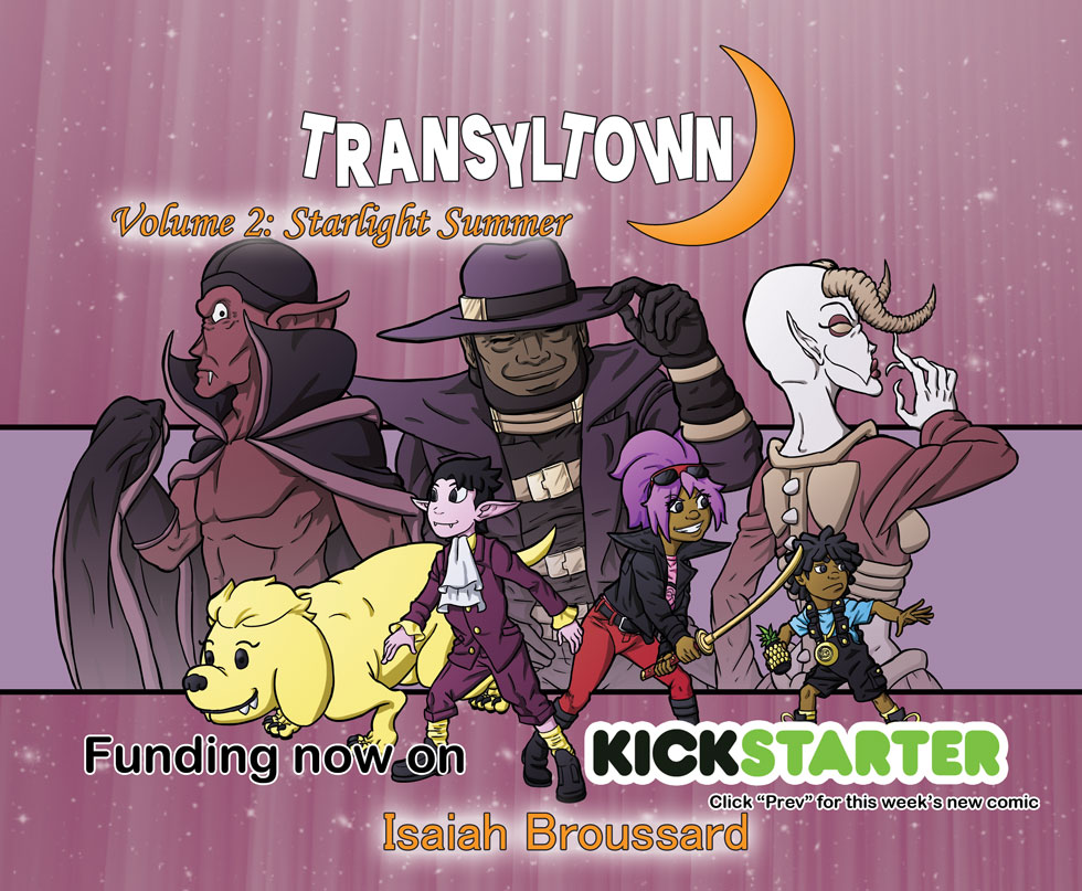 Transyltown Volume 2 Cover