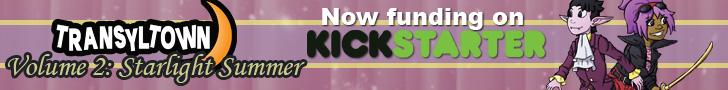 Support Transyltown Volume 2 on Kickstarter