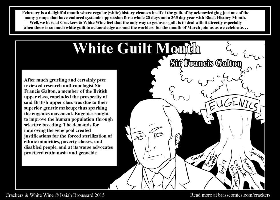 White Guilt Month: Francis Galton