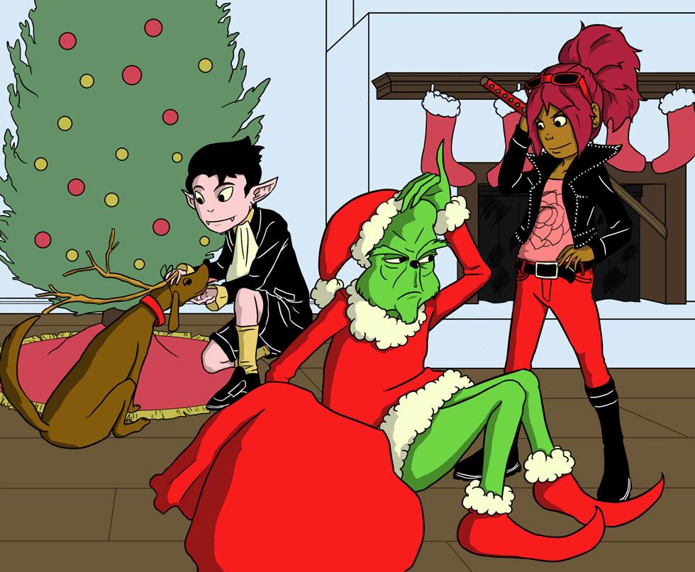 The Slayer Who Saved Christmas