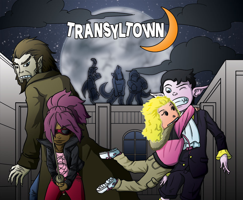 Transyltown Episode 2 Cover Colored
