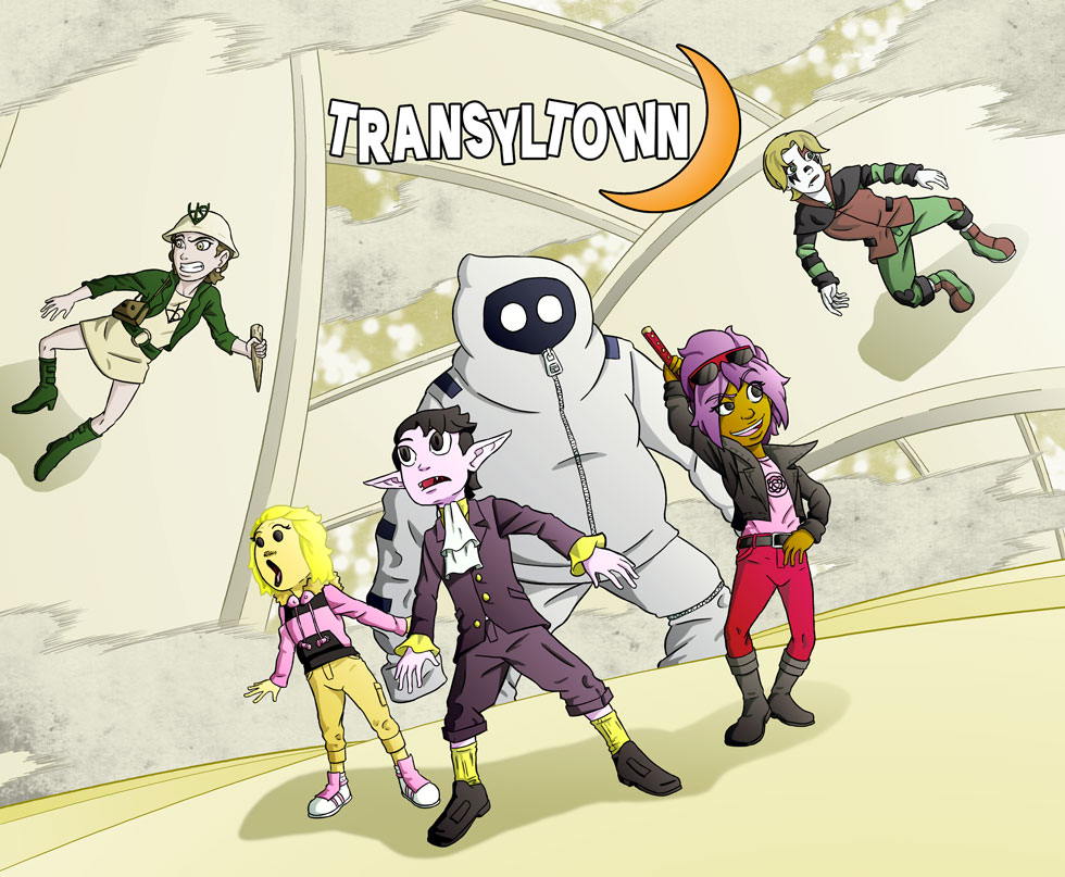 Transyltown  Episode 5 Cover