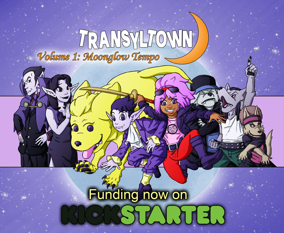 Transyltown Volume 1 Moonglow Tempo Cover