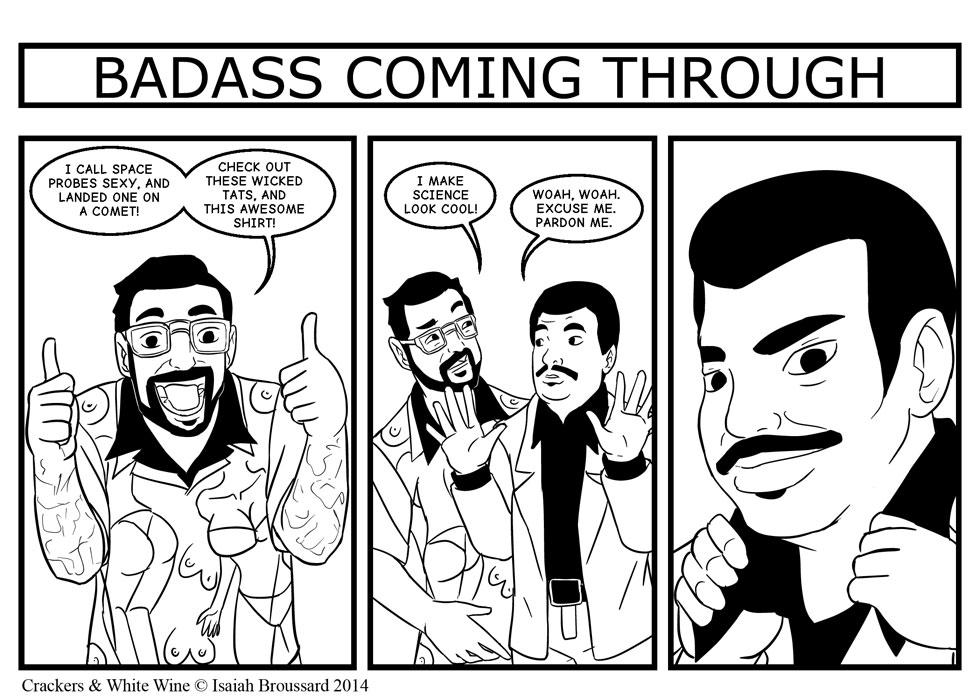 Badass Coming Through